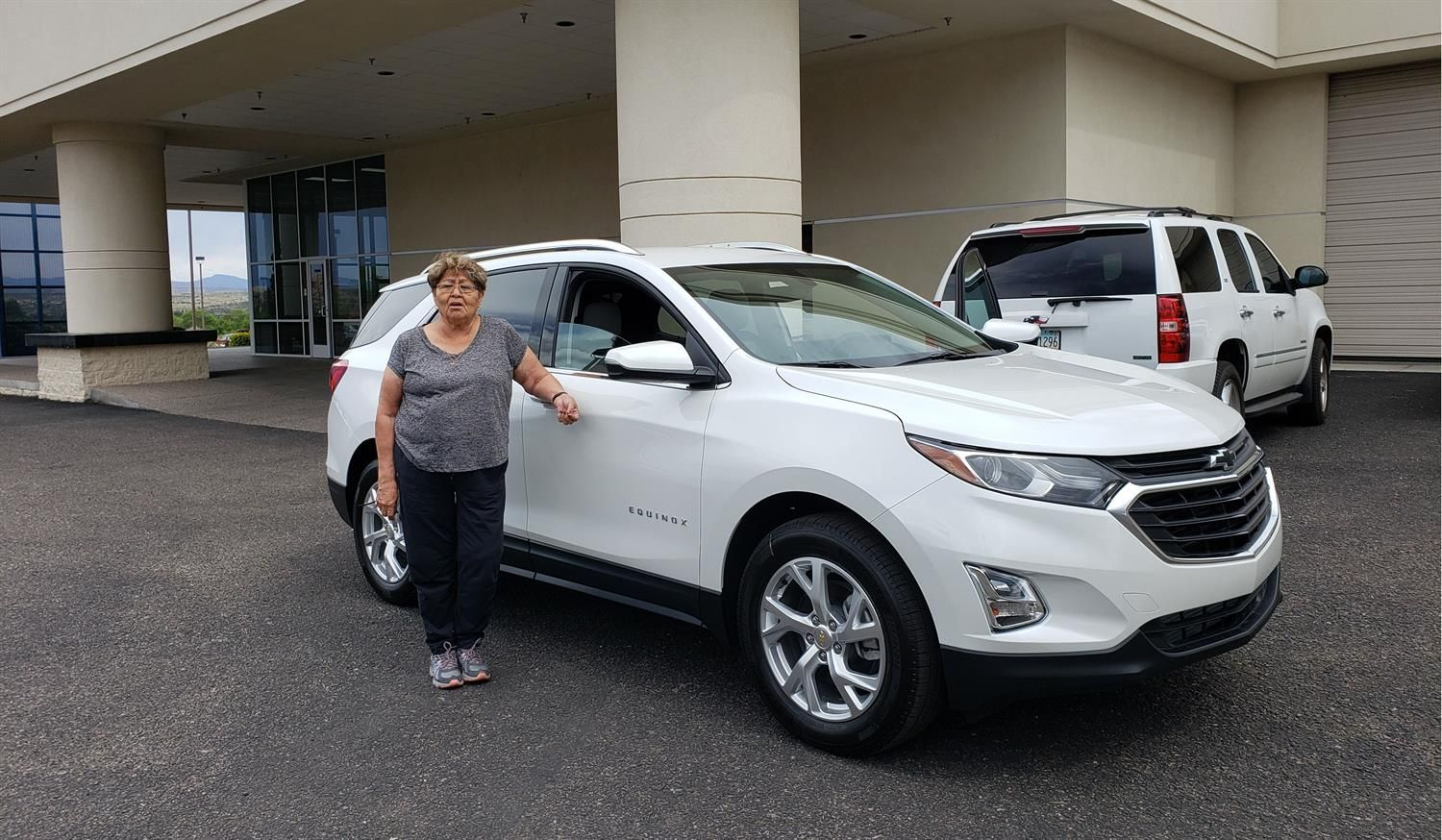 Thank You Kathleen For The Opportunity To Help You With Your New 2019 Chevrolet Equinox All The Best Larry Green Chevrole Chevrolet Equinox Chevrolet Larry