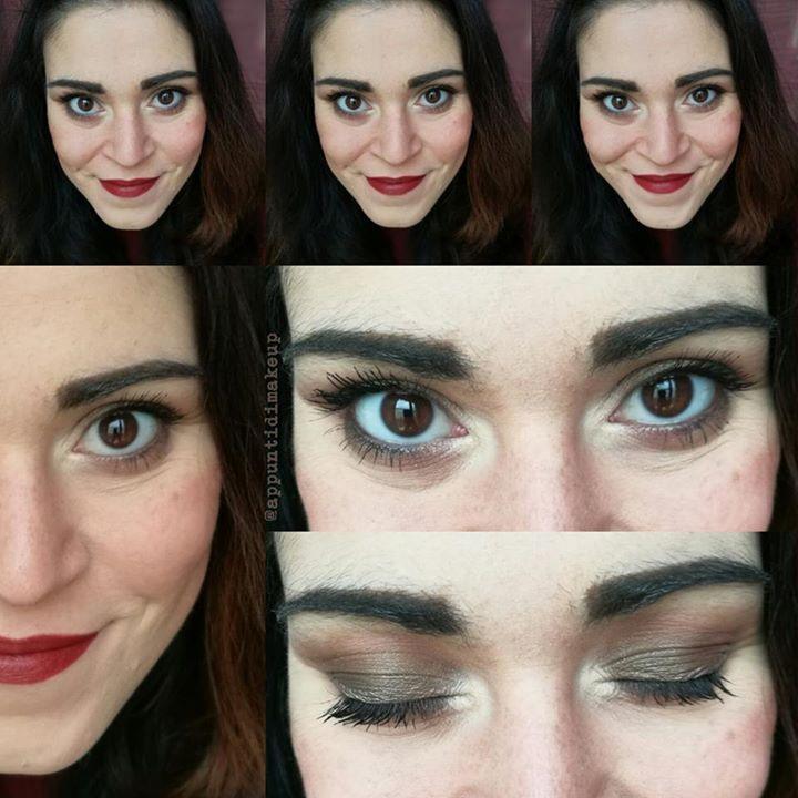 Evviva la comodità!  Un trucco che a farlo e a portarlo data l'abitudine è come se non lo avessi  Sugli occhi abbondante Sumptuous olive di MAC Cosmeticsche fa da solo tutta la scena e un po' di Tribeca di NABLA Cosmetics. Sulle labbra Incognito di Neve Cosmeticsche trovo completi benissimo questa scelta di colori che mi ricorda sempre il medio oriente  #FOTD #faceoftheday #makeup