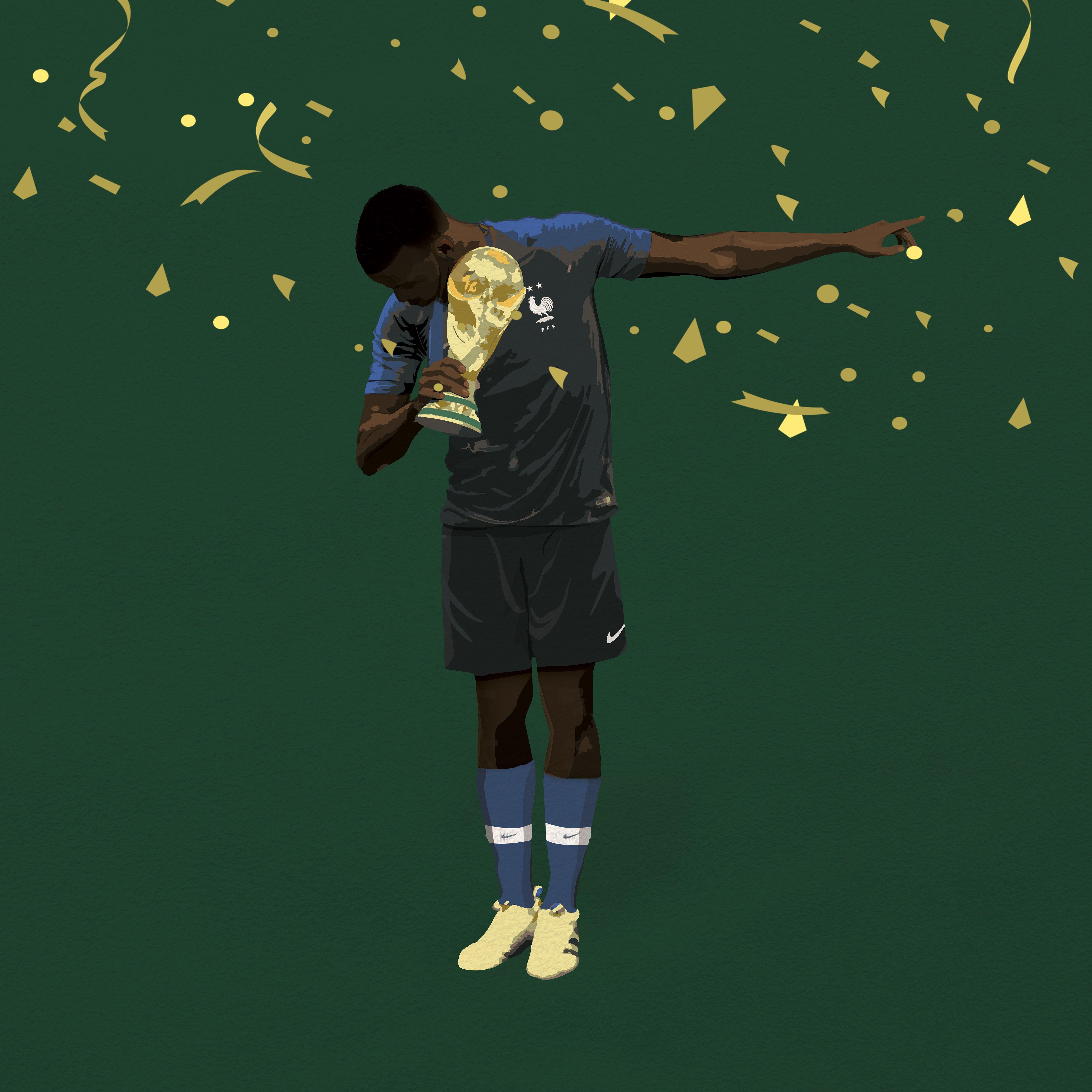 los angeles 1aad8 51634 Kon on   pogba   Dab pogba, World cup final, France vs