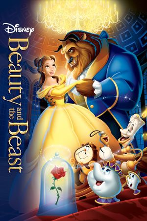 Beauty And The Beast Peliculas Clasicas De Disney Carteles De Peliculas De Disney Peliculas De Disney