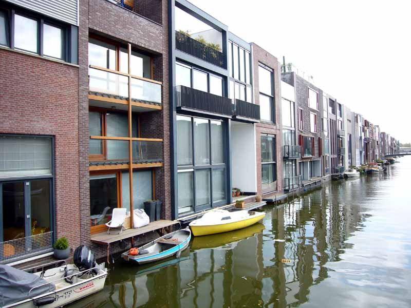 Modern House Design / Amsterdam. Borneo and Sporenburg