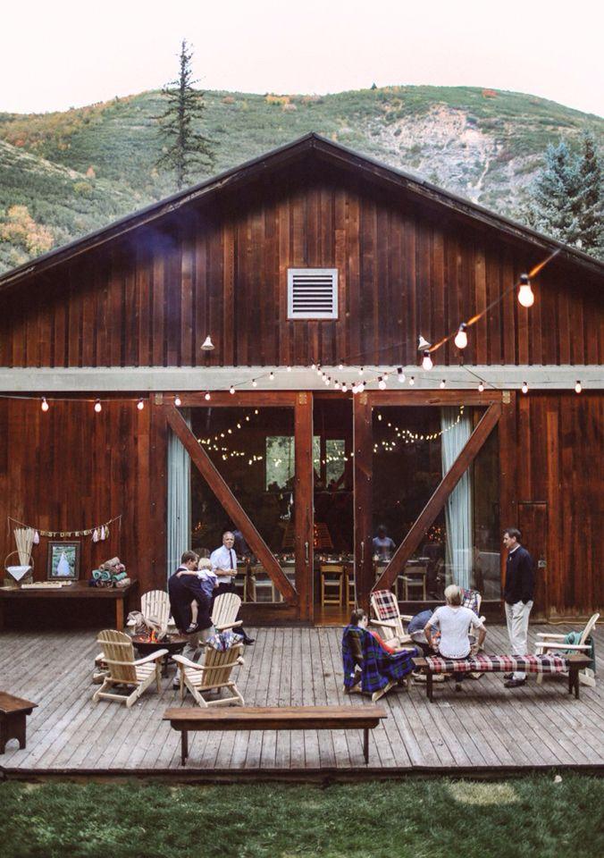 Interesting Idea Of Adding A Deck Floor Outside The Barn Wedding Venues Utah