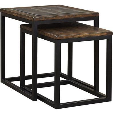 Havertys - Calhoun Nesting Tables   titan 3248 model   Pinterest ...
