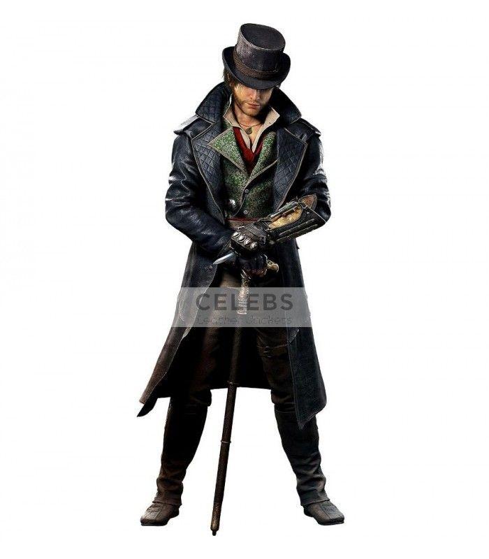 Assassins Creed Syndicate Jacob Frye Costume Coat Assassins