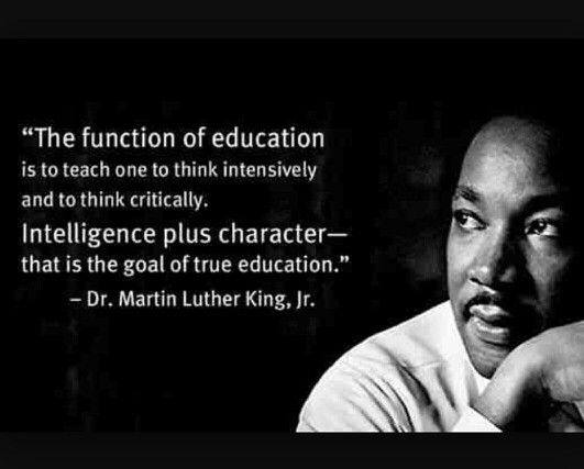 Martin Luther King Jr Famous Education Quotes Martin