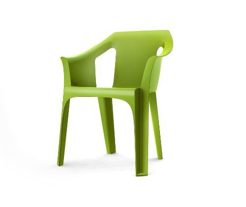 "Resol ""Cool"" Garden Outdoor / Indoor Designer Plastic Chairs - Green - Garden Furniture (Pack of 2 chairs) by Resol, http://www.amazon.co.uk/dp/B0057OQFZ8/ref=cm_sw_r_pi_dp_ZRrQrb1RBZ6CQ"