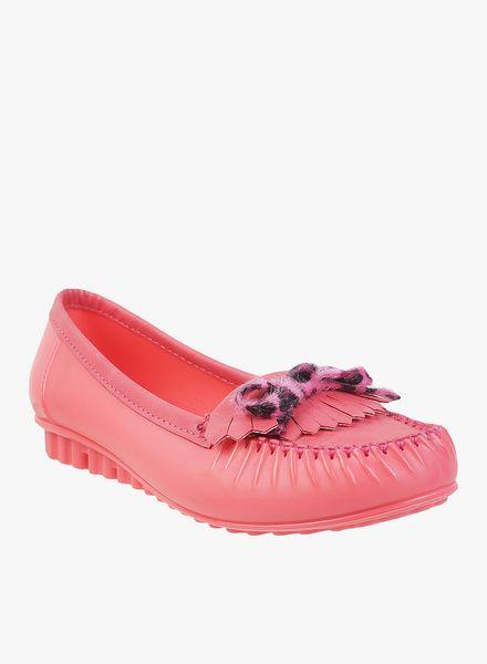 b205eadeff7d Buy Mochi Pink Moccasins for Women Online India