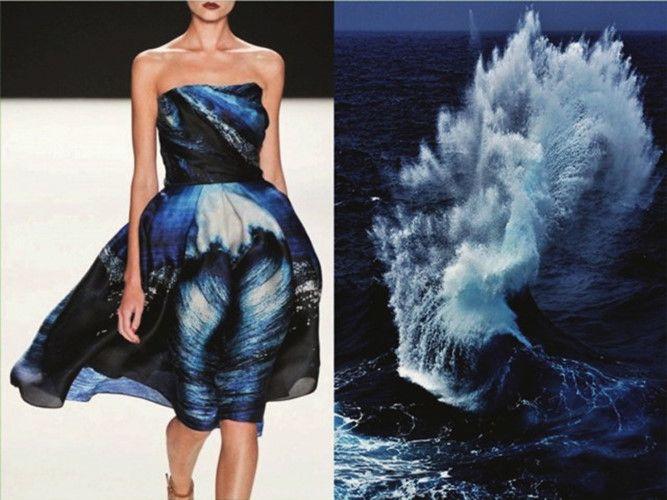mê mẩn những thiết kế thời trang lấy cảm hứng từ tự nhiên hình 10