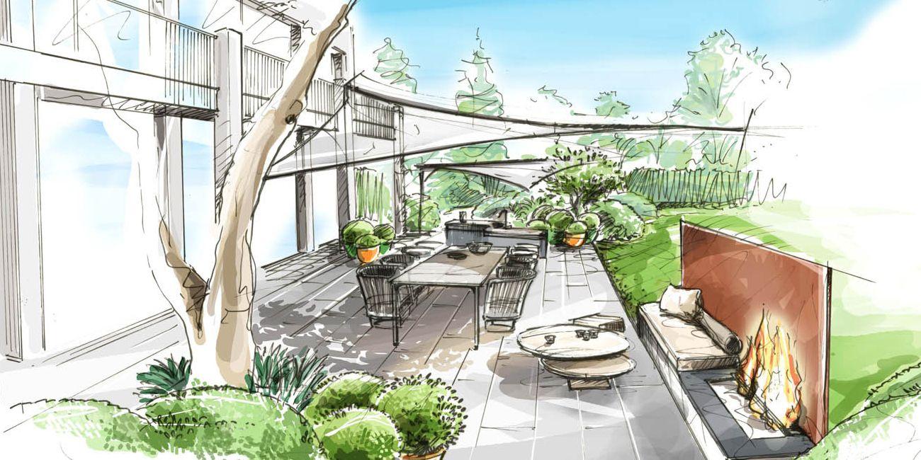 terrasse belgique bruxelles loup co jardin. Black Bedroom Furniture Sets. Home Design Ideas