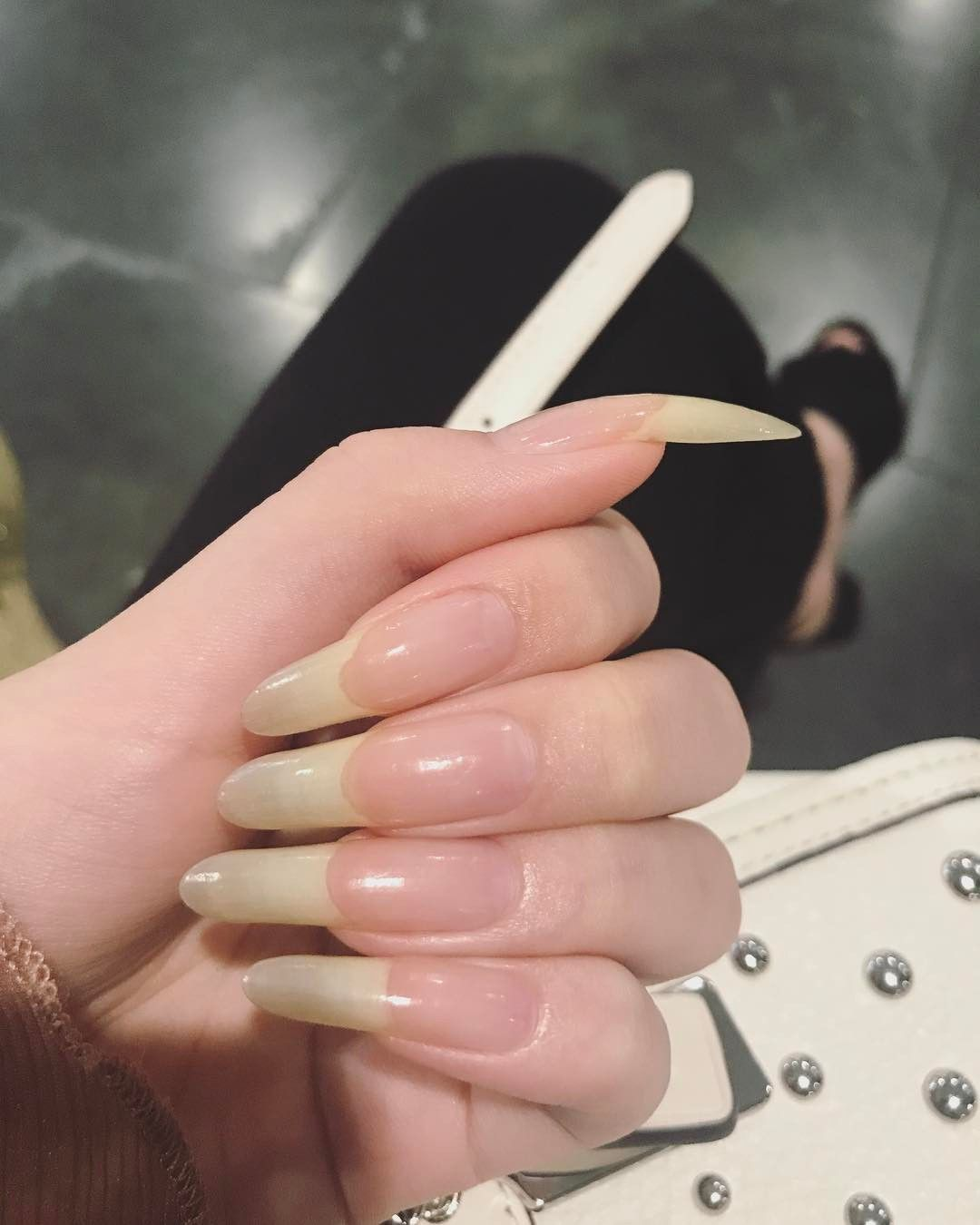 MamaLiz | Nailsss! | Pinterest | Natural nails, Long natural nails ...