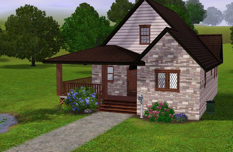 Charming Country Cottage   2 Bed, 2 Bath Starter Home