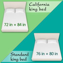 King Size Bed Dimensions Measurements California King Vs King