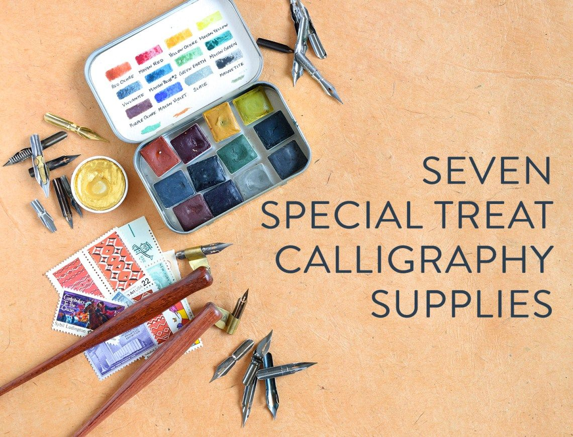 Seven Special Treat Calligraphy Supplies With Images
