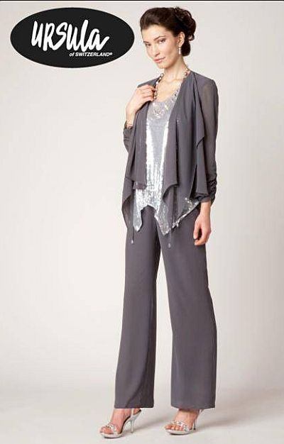 Ursula Micro Sequin Dressy Pant Suit 11233 | Wedding Ideas ...