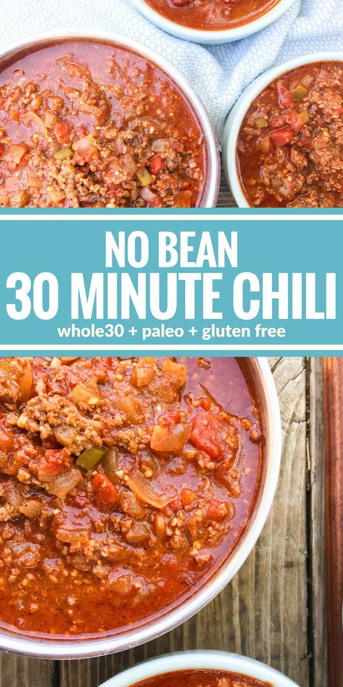 This No Bean 30 Minute Chili Is The Ultimate Comfort Food Plus