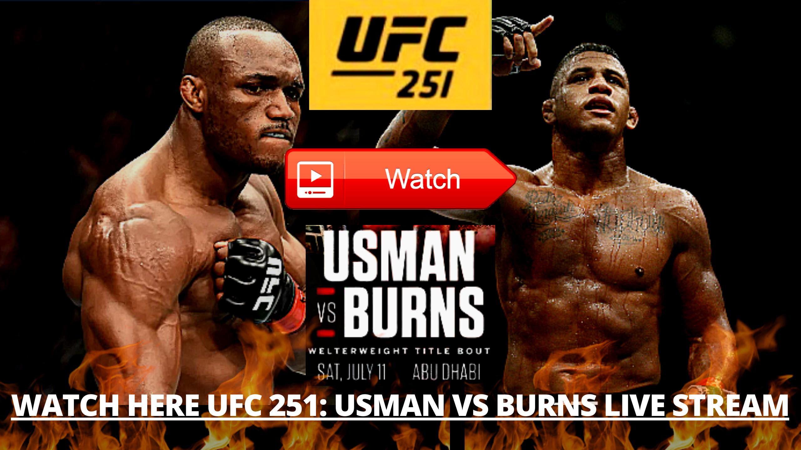 "Pin on ""Usman vs Burns Live Stream"""