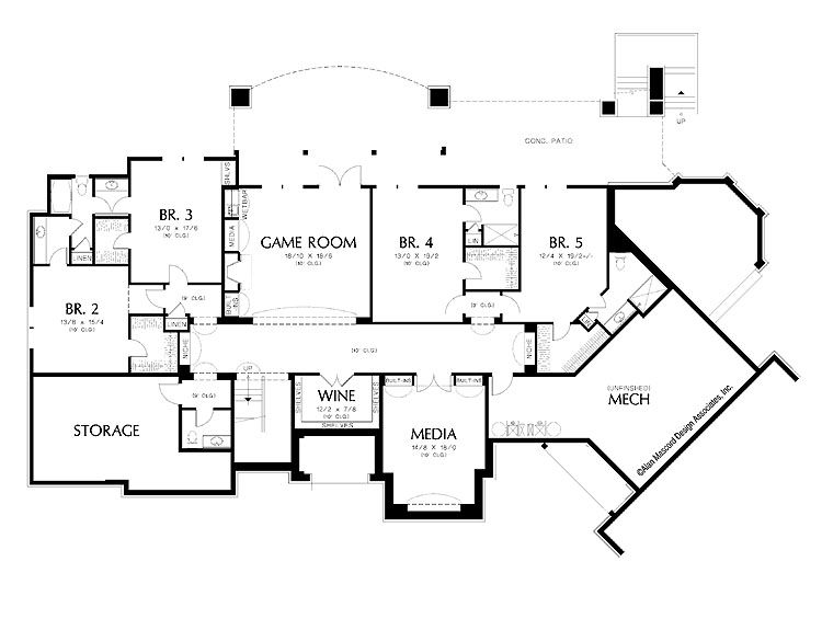 17 Best images about Luxurious Floor Plans on Pinterest Monster