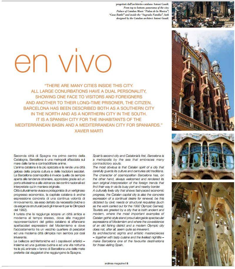 Presentación de nuestro espacio Arclinea Cocina en Vivo en Barcelona en el Magazine. #revistaarclinea #diseñoitaliano #cocinas #diseño #arclinea