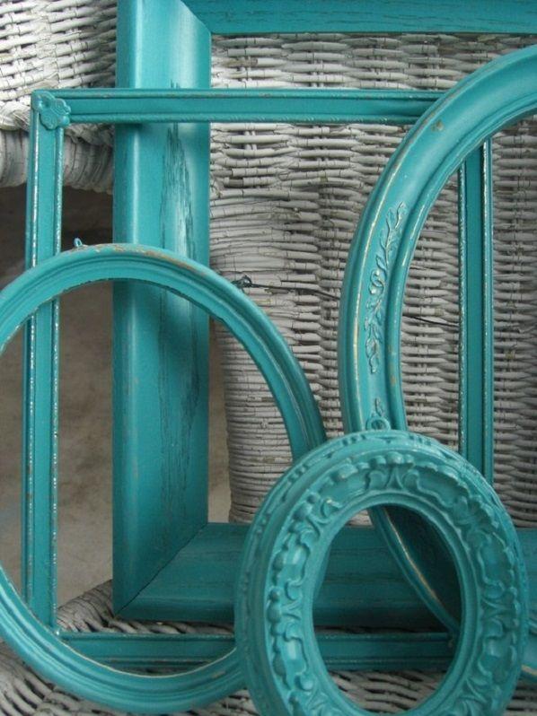 Turquoise frames turquesa pinterest for Alfombra azul turquesa del dormitorio
