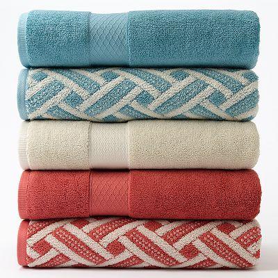 Chaps Home Stone Harbor Turkish Cotton Bath Towels Bathroom Bath