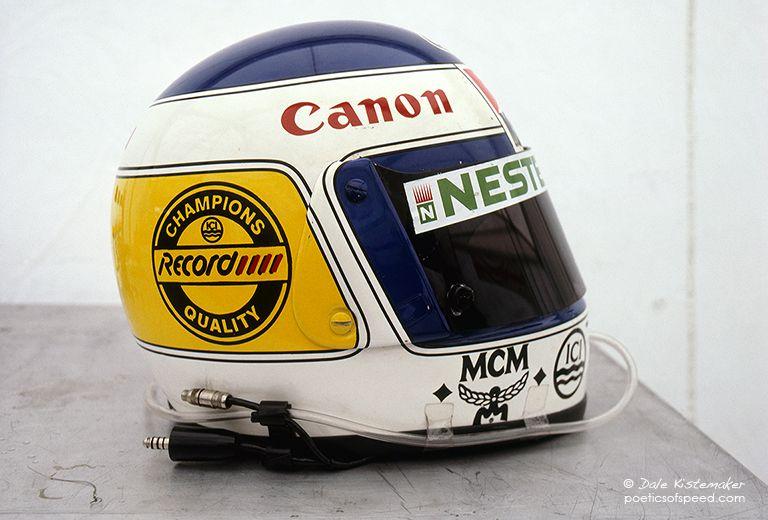 Keke Rosbergs Helmet Vintage Helmet Racing Helmets