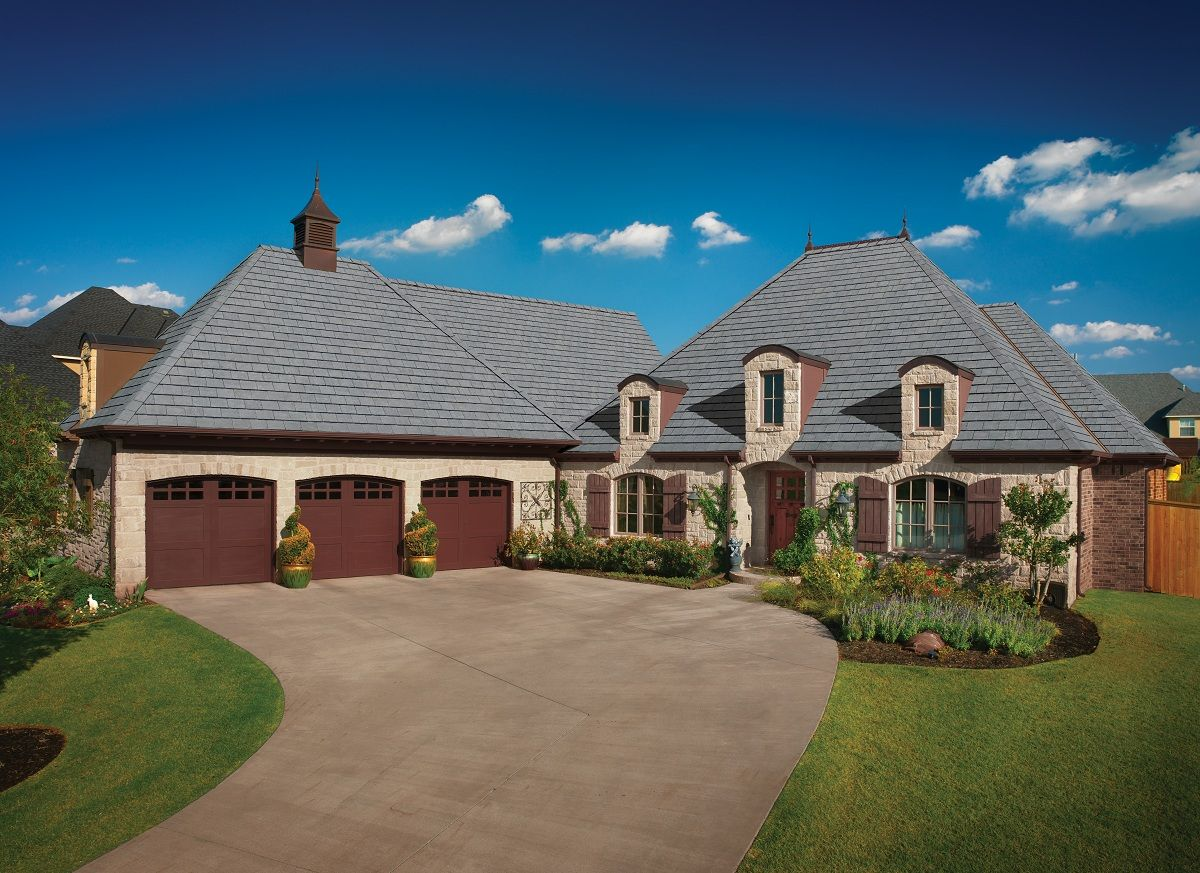 Gaf Shingles Truslate Color Autumn Dusk With Images Roofing Photo Cool Photos