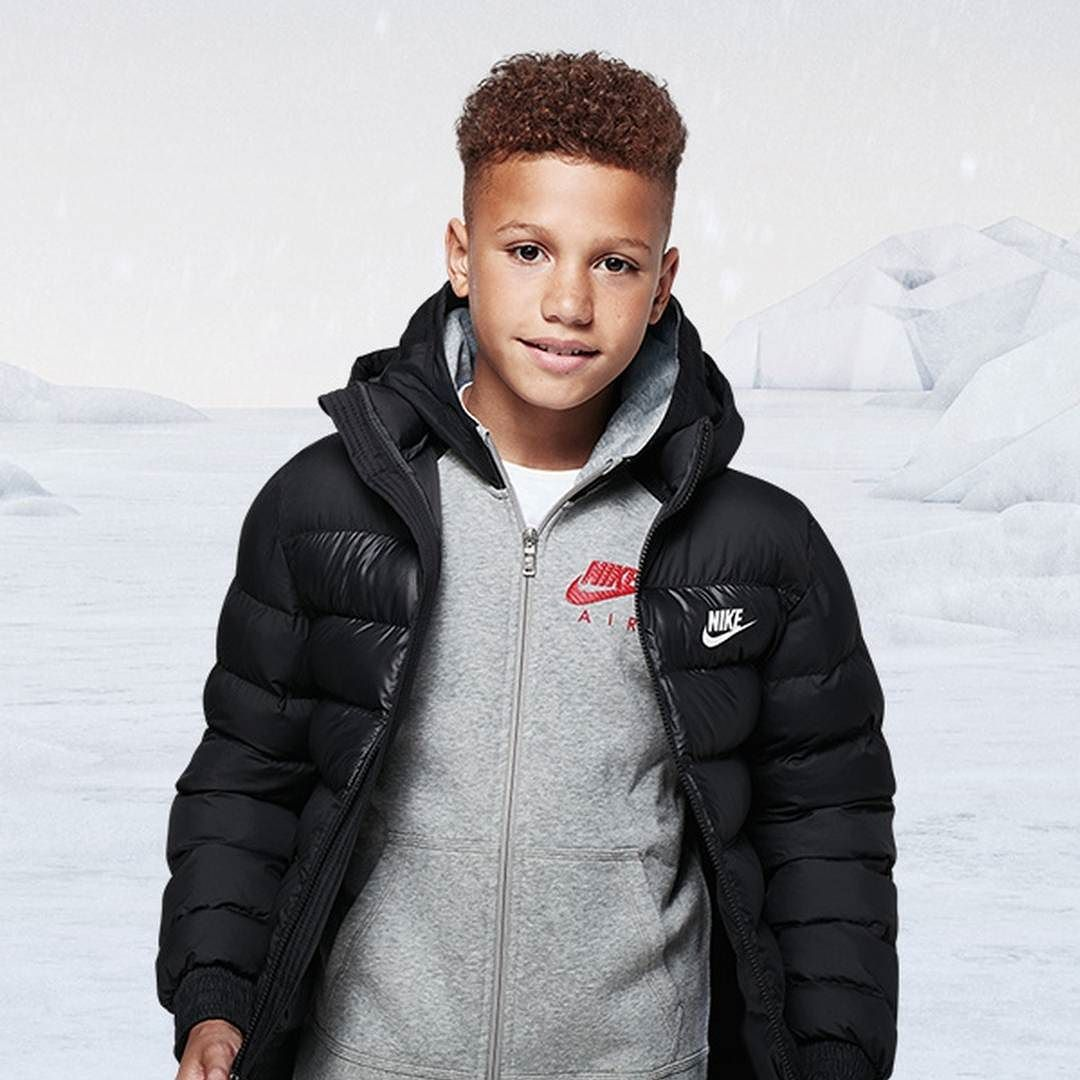 562ac6fe2 Layer up for winter with junior favourites from Nike including the ...