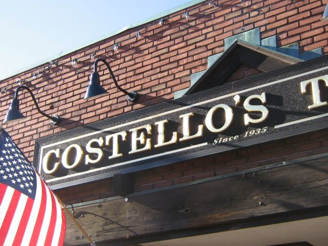 Costello's, a watering hole in Jamaica Plain