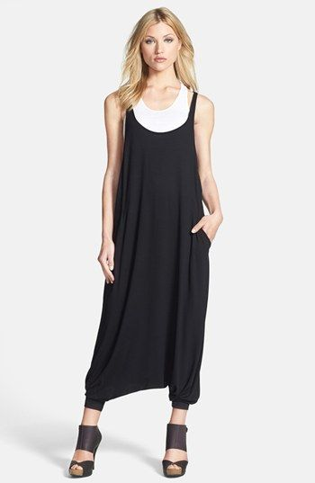 Eileen Fisher Stretch Jersey Harem Jumpsuit available at #Nordstrom ...
