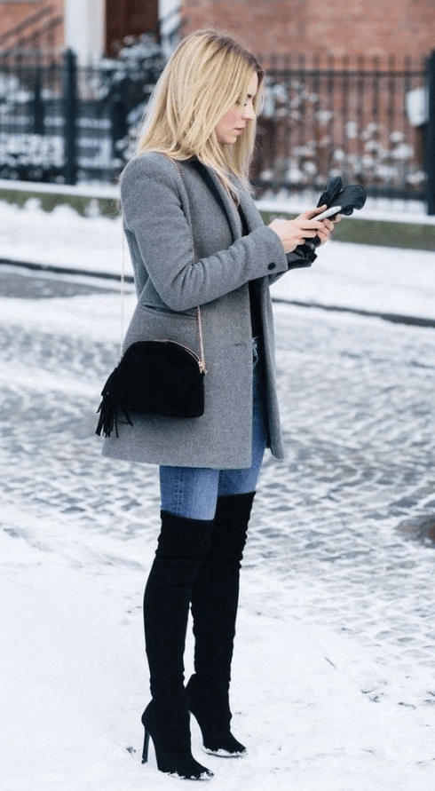 20 Women Winter Outfit For Work - VivieHome