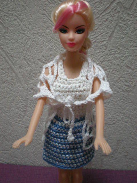 sjaal voor Barbie