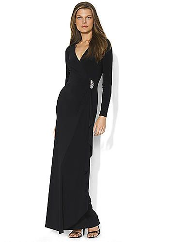 Long Evening Brooch Dress Lord And Taylor Best Formal Looks