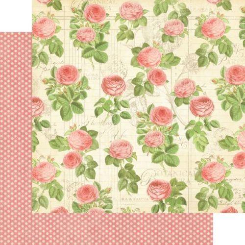 Graphic 45 Botanical Tea 12 x 12 Paper Flora 2 Sheets | eBay