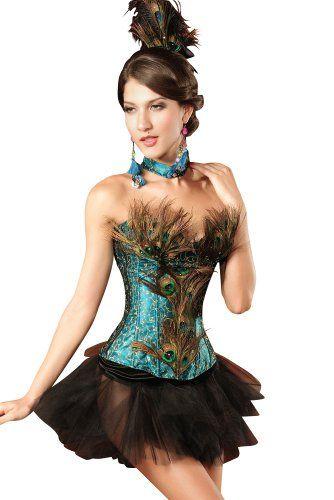 Damen Pfau Kostum Ca 79 Kostum Ideen Zu Karneval Halloween