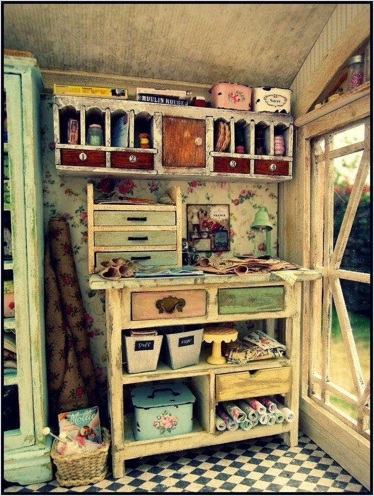 Best Craft Room Designs: 44 Best Vintage Craft Room Ideas, Stunning Organize Room