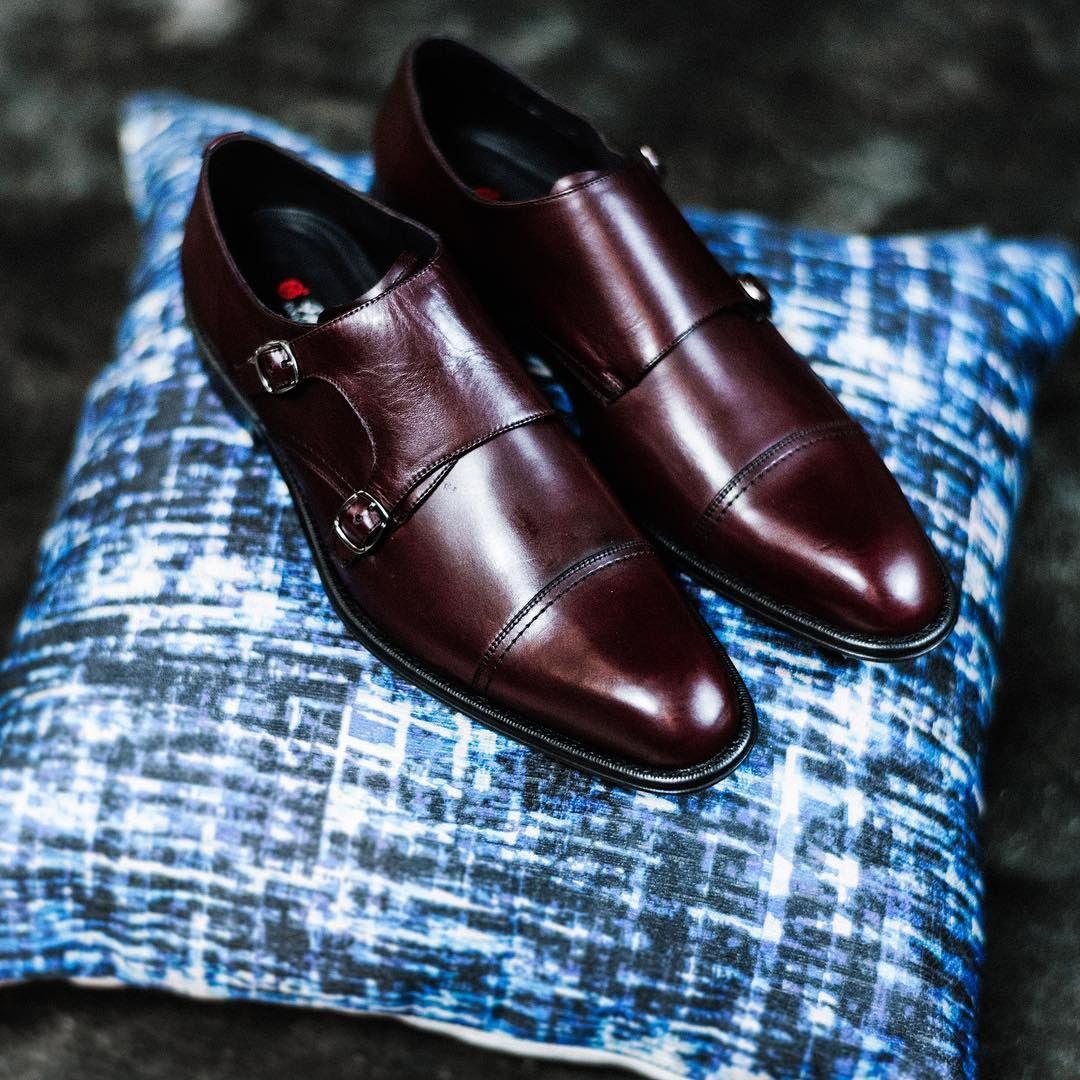 Mocassino Santoni Uomo Tassel 42 In Pelle Cuoio Goodyear Welted Luxury Shoe