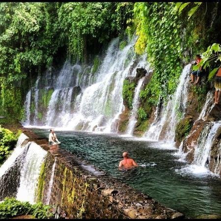 Chorros De La Calera Juayua El Salvador One Of The Swimming Holes With The Jump El Salvador