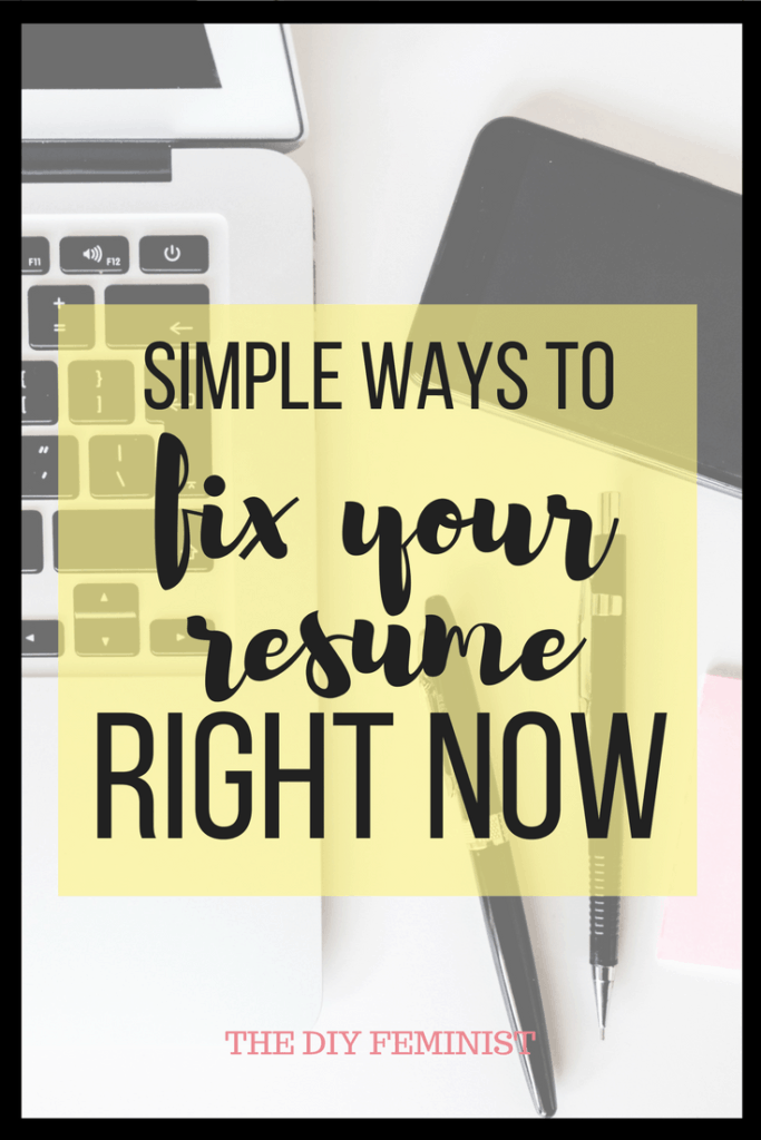 Fix your Resume Right Now Resume skills, Resume tips, Resume