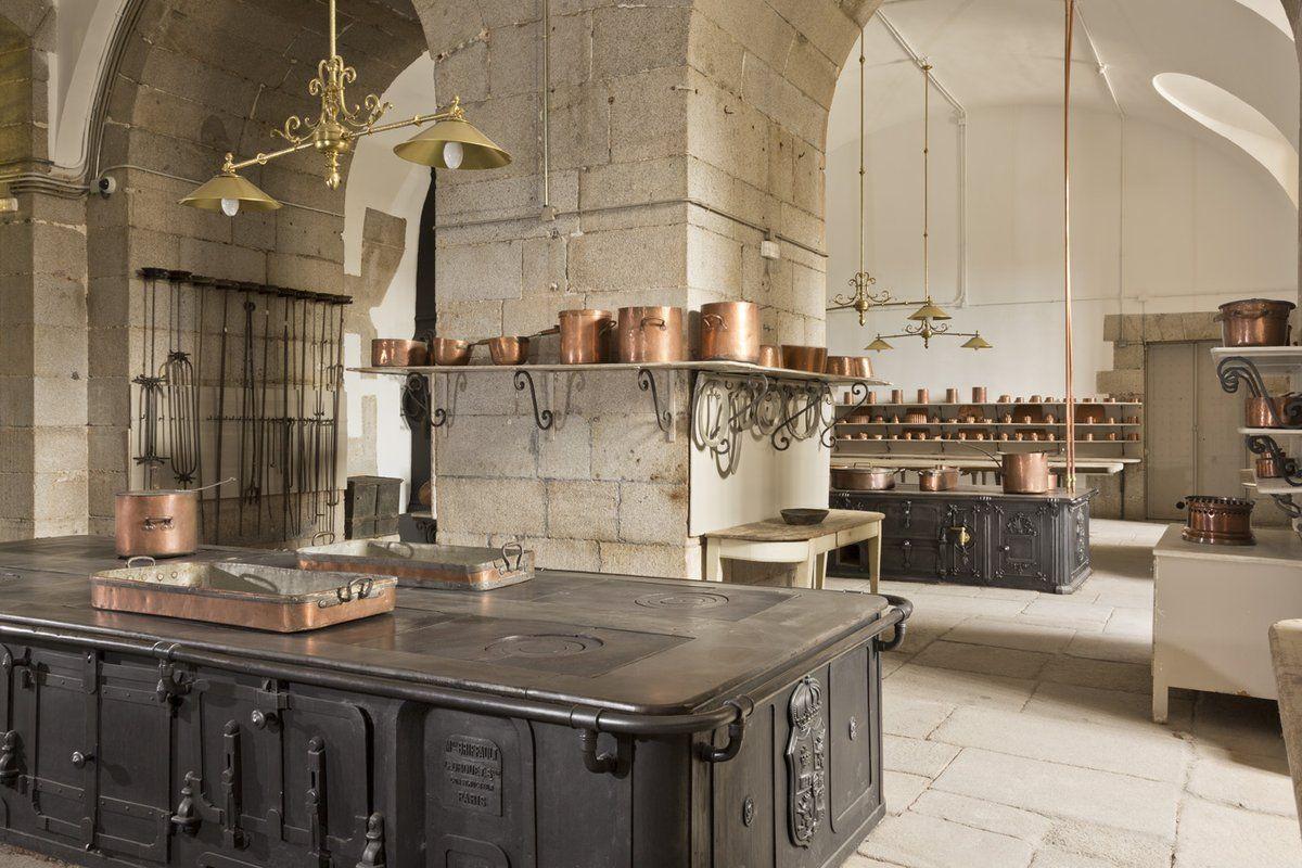 Cocinas Del Palacio Real Sala De Fogones Palacios Cocinas