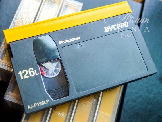 Lot of 10 Panasonic DVCPRO 126L AJ-P126LP Tapes Video Casettes