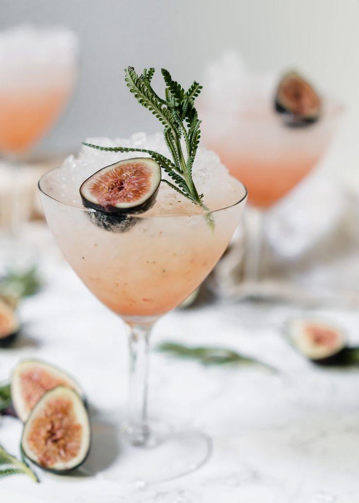 Fresh Fig & Lavender Spritz #summerdrink #sip