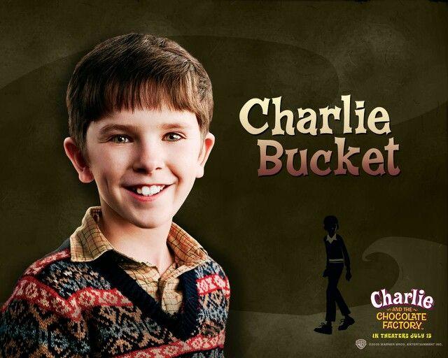 Aww Little Norman Bates Freddie Highmore As Charlie Bucket