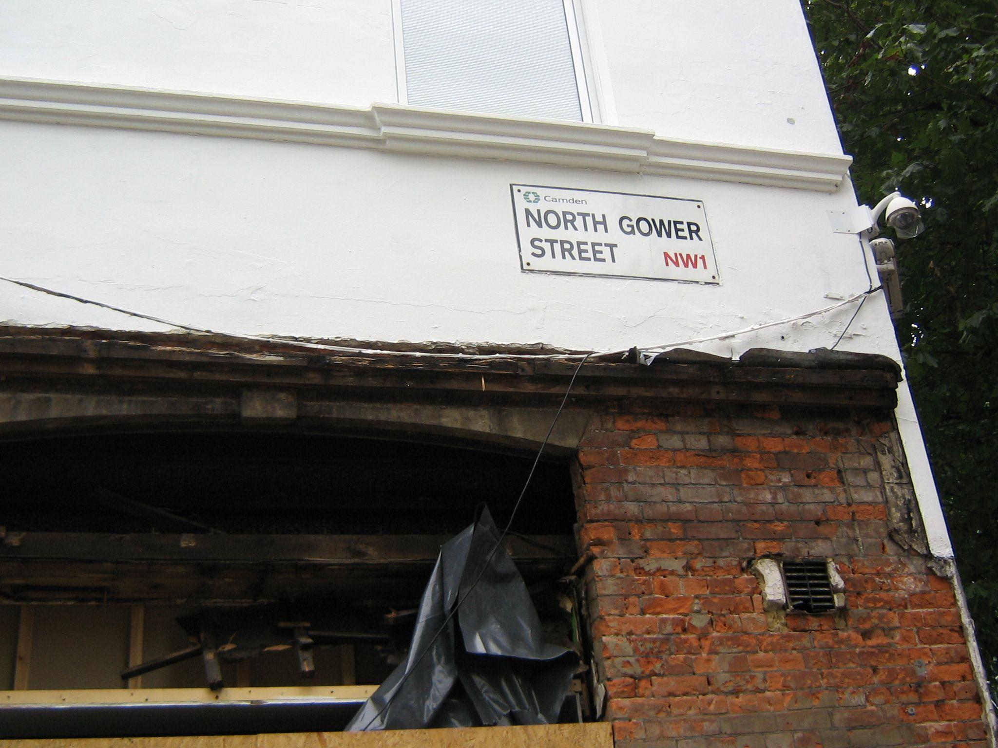 North Gower Street, London, 2011