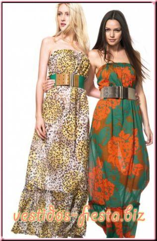 Modelos vestidos hippie chic