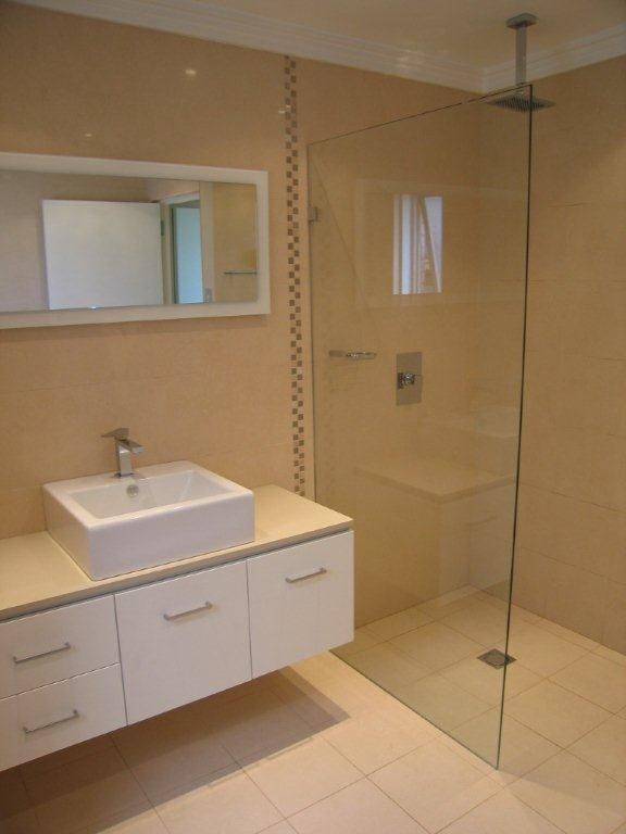 Bathroom Renovation In Contrast Style | Please Your Bathroom With A New  Look | Pinterest | Small Bathroom Renovations, Small Bathroom And Master  Bathrooms