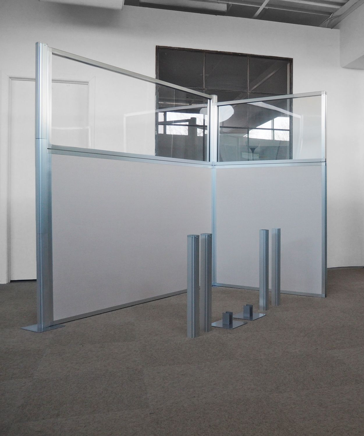 diy office partitions. Hush Panel DIY Cubicle Partitions Require No Tools \u2013 Simply Slide The Panels And Posts Together To Create Your Own Workstation Cubicles. Diy Office W
