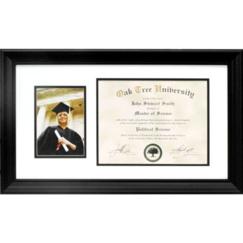 Graduation Photo and Diploma Frame 14in x 24in - Graduation Frames ...