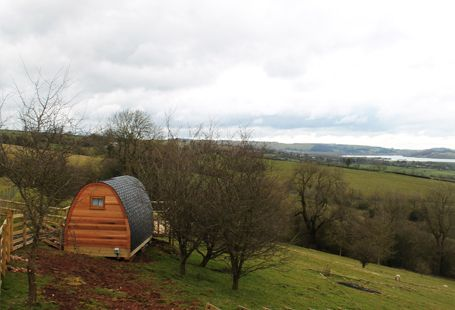 Mulinopods, Kniveton, Ashbourne, Derbyshire. Pet Friendly Camping Holiday Accommodation in England. Peak District. Accepts Dogs & Small Pets #WeAcceptPets