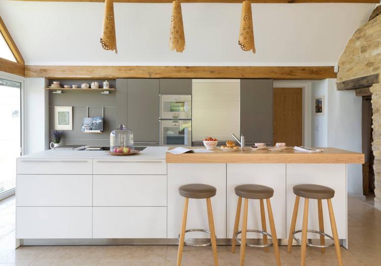 Kücheninsel Edelstahl ~ Sockelblende küche edelstahl kochinsel weiss graue küchenzeile