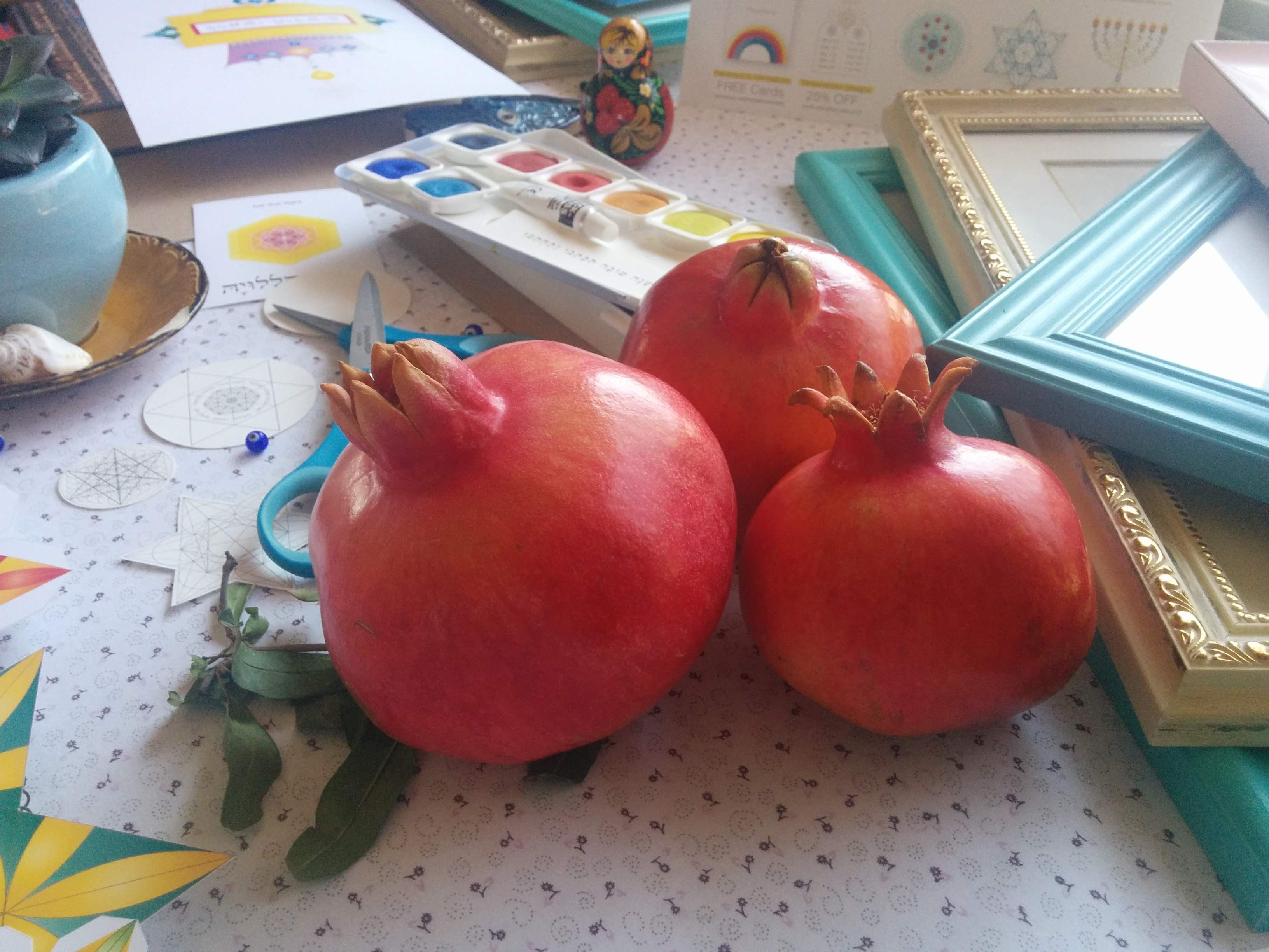 Shirlala » Blog Archive » The Sukkot 4 Species Printable ...  |Sukkot Crafts For Teens